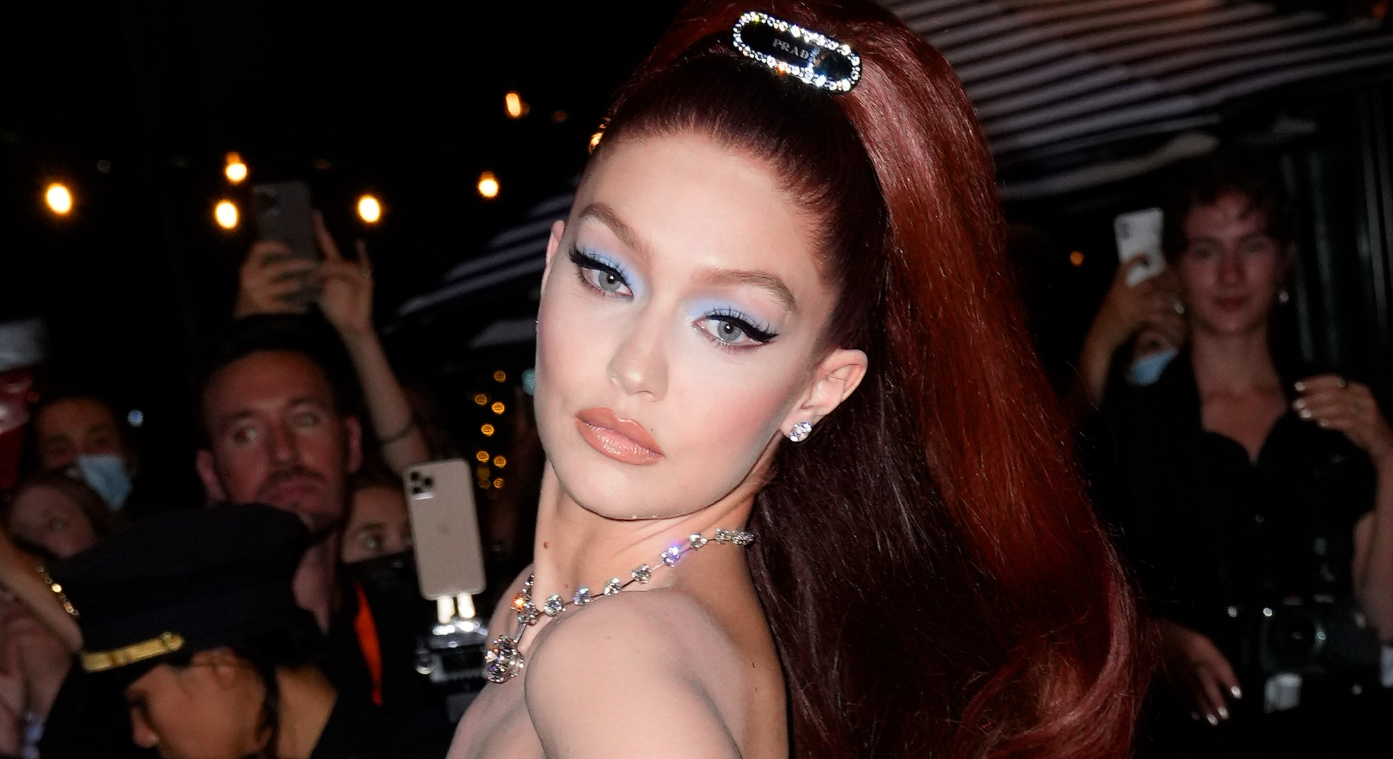 Gigi Hadid's Met Gala 2021 makeup was one of the best beauty looks of the night.