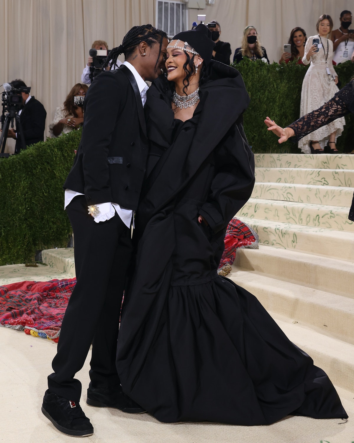 Rihanna and ASAP Rocky's Met Gala body language shows they're super in love.