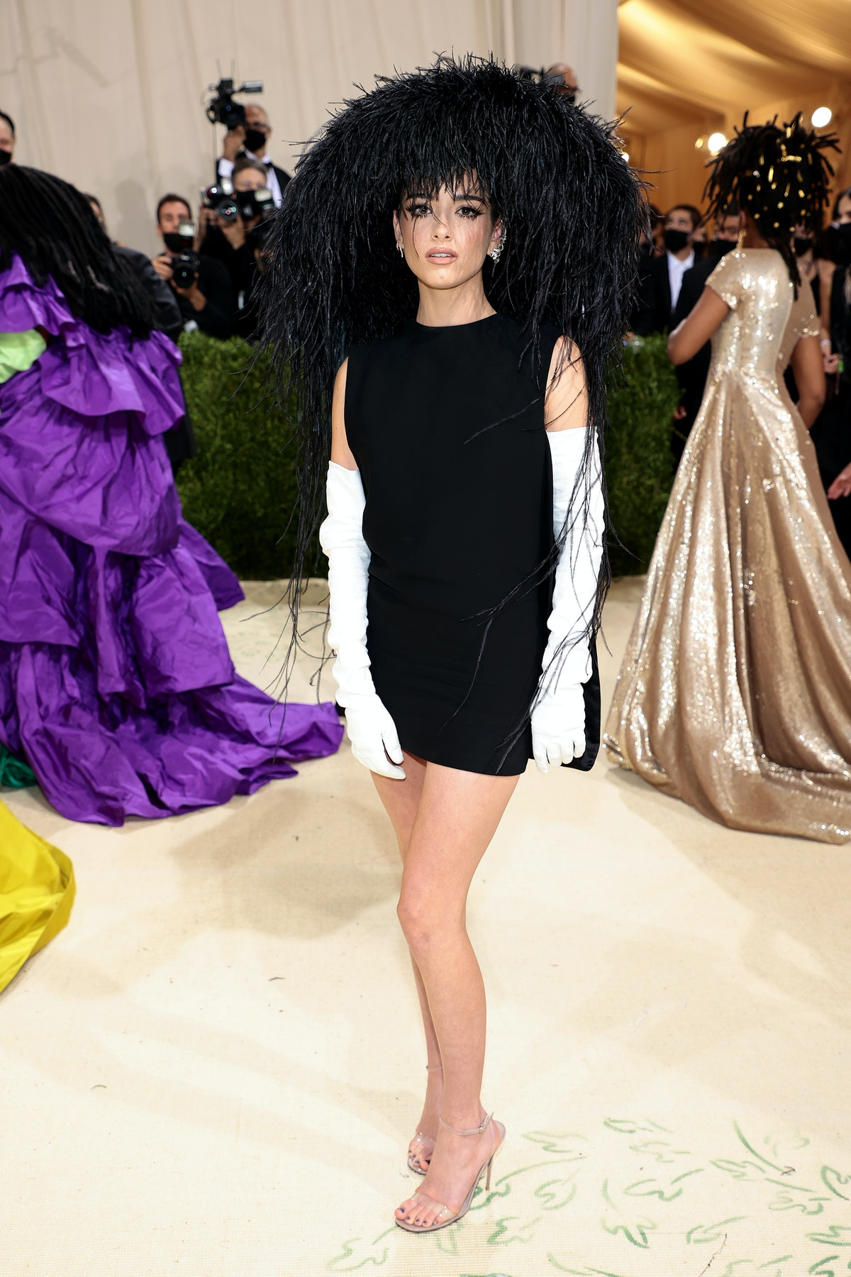 Dixie D'Amelio attends The 2021 Met Gala Celebrating In America: A Lexicon Of Fashion at Metropolita...
