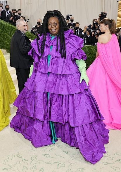 NEW YORK, NEW YORK - SEPTEMBER 13: Whoopi Goldberg attends The 2021 Met Gala Celebrating In America:...