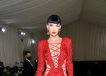 Megan Fox's red, lace-up Met Gala 2021 gown took 50 people to make.