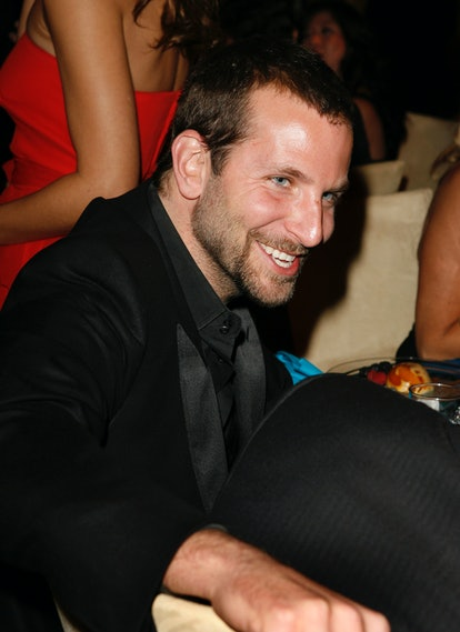Bradley Cooper during In Style and Warner Bros. 2007 Golden Globe After Party - Inside at Beverly Hi...