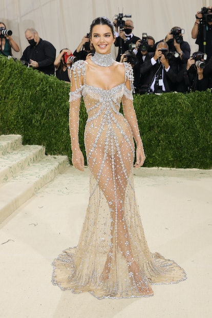 Naked dresses are back according to the Met Gala red carpet. Everyone from Kendall Jenner to Zoë Kra...