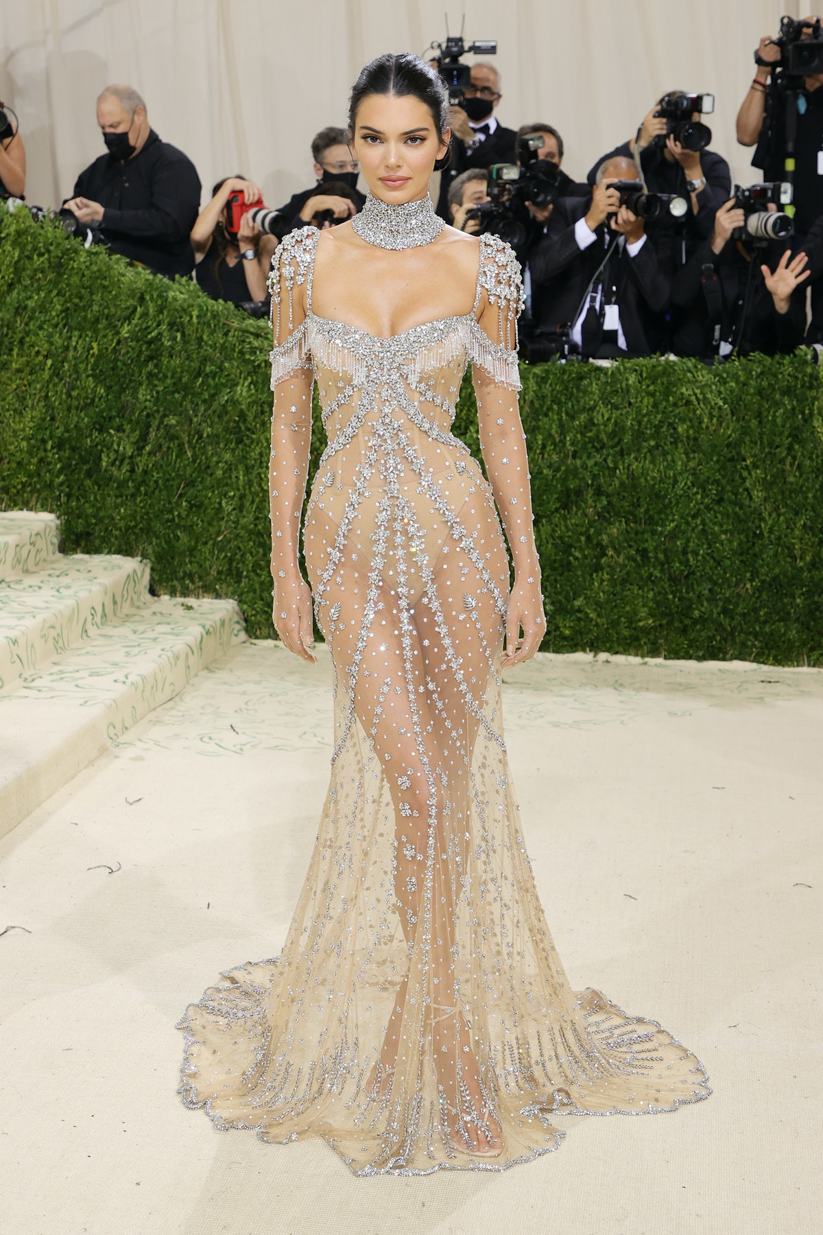 Kendall Jenner attends The 2021 Met Gala