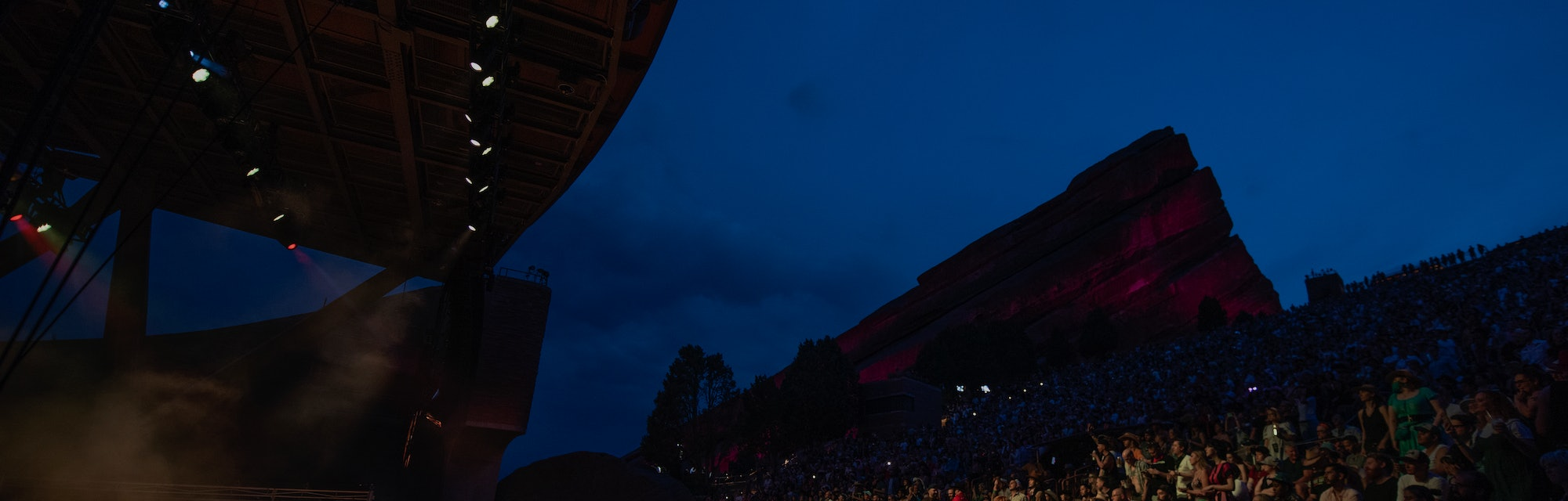 MORRISON, COLORADO - JULY 22: Musician Yola opens for Orville Peck Summertime Tour at Red Rocks Amph...