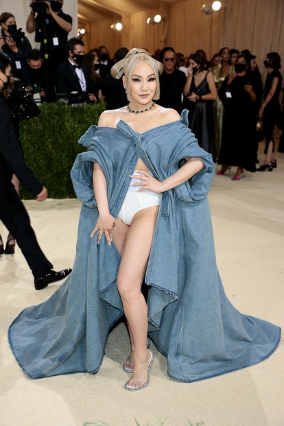 NEW YORK, NEW YORK - SEPTEMBER 13: CL attends The 2021 Met Gala Celebrating In America: A Lexicon Of...