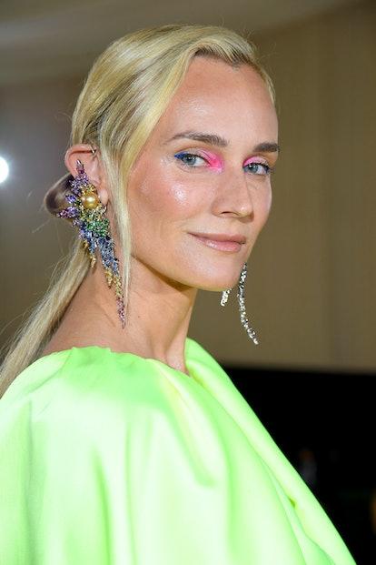 NEW YORK, NEW YORK - SEPTEMBER 13: Diane Kruger attends The 2021 Met Gala Celebrating In America: A ...
