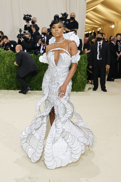 NEW YORK, NEW YORK - SEPTEMBER 13: Gabrielle Union attends The 2021 Met Gala Celebrating In America:...