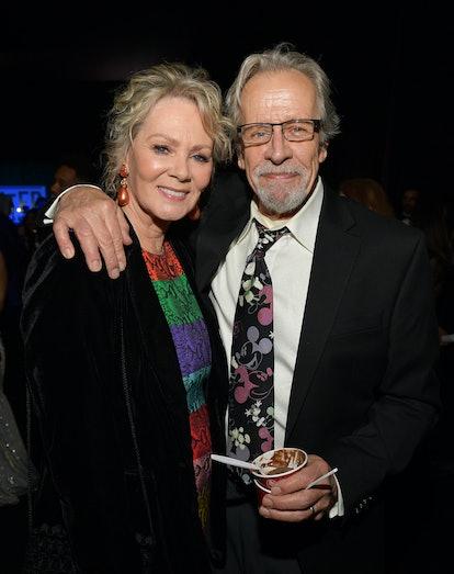 SANTA MONICA, CALIFORNIA - JANUARY 12: (L-R) Jean Smart and Richard Gilliland attend the 25th Annual...