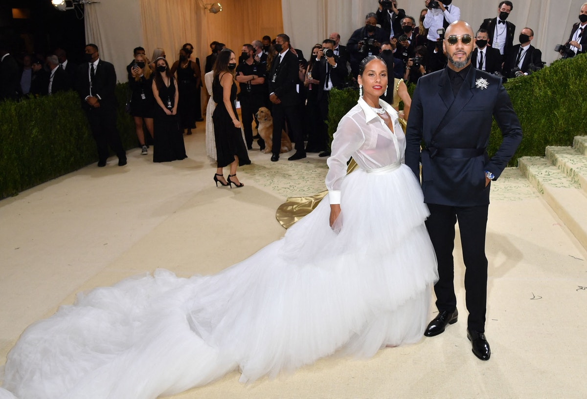 Alicia Keys and husband  Swizz Beatz  2021 Met Gala