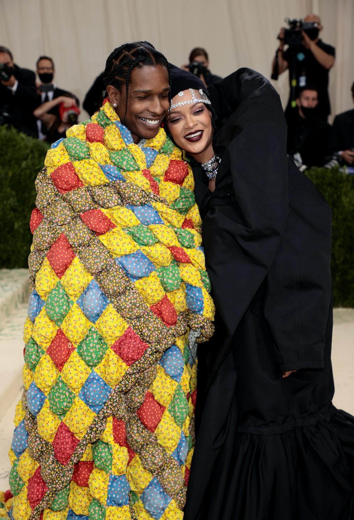 Rihanna and ASAP Rocky's Met Gala body language is genuine.