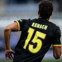 ZWOLLE, NETHERLANDS - SEPTEMBER 11: Devyne Rensch of Ajax during the Dutch Eredivisie  match between...