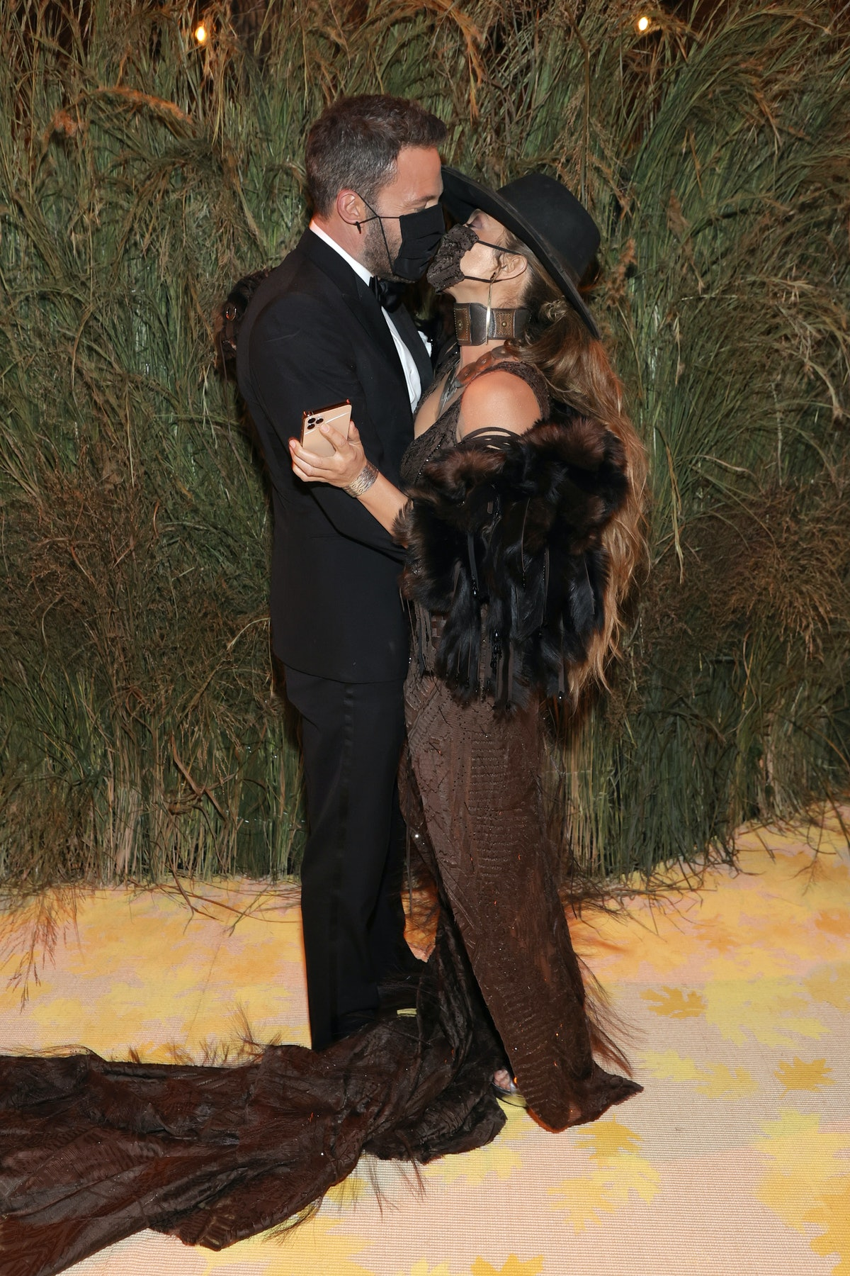 Jennifer Lopez and Ben Affleck's masked kiss at the Met Gala speaks volumes about their relationship...