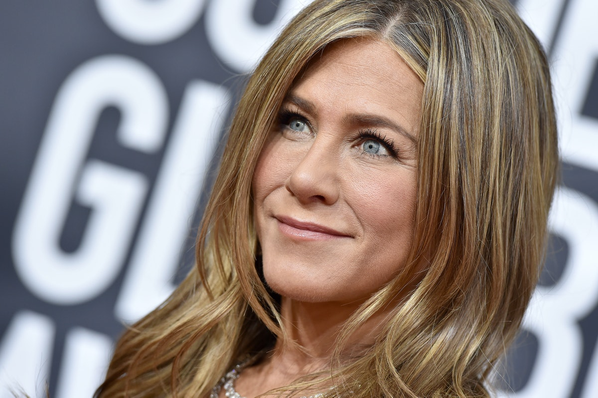BEVERLY HILLS, CALIFORNIA - JANUARY 05: Jennifer Aniston attends the 77th Annual Golden Globe Awards...
