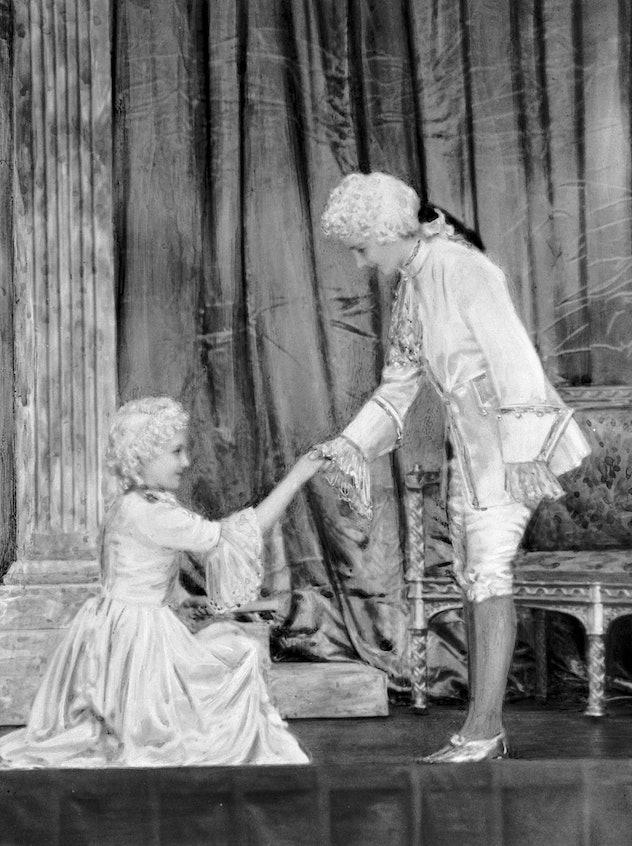 Princess Elizabeth as Prince Charming.