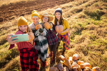 These fall Instagram captions are perfect for pumpkin patch photos.