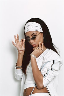 Latto, Flo Milli, Yung Baby Tate & 'Drag Race' stars Symone & Kandy Muse discuss Aaliyah's music, im...