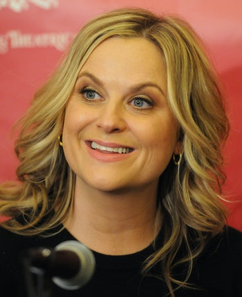 (Cambridge, MA 01/29/15) Hasty Pudding Theatricals Woman of the Year 2015 Amy Poehler  smiles while ...