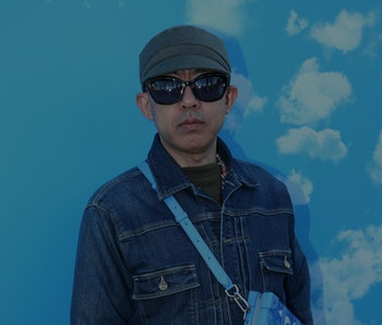 PARIS, FRANCE - JANUARY 16: Japanese DJ Nigo attends the Louis Vuitton Menswear Fall/Winter 2020-202...