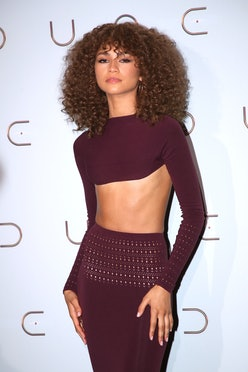 """Zendaya attends the """"Dune"""" photocall At Le Grand Rex in Paris, France in September 2021."""