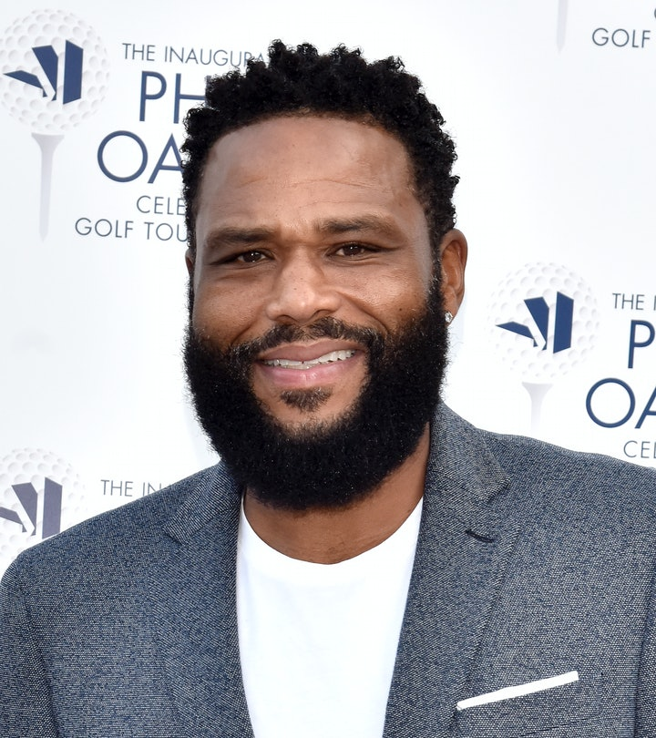 CARMICHAEL, CALIFORNIA - AUGUST 29: Anthony Anderson attends the Inaugural Phil Oates Celebrity Golf...