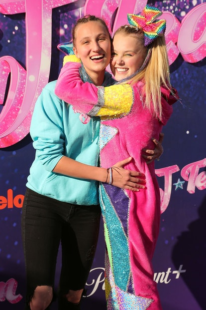 Lesbian couples who love bright colors should dress up as Jojo Siwa and girlfriend Kylie Prew for Ha...