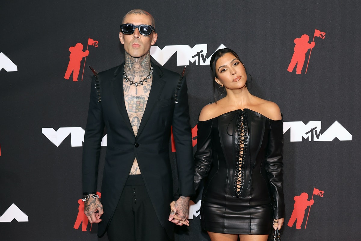 This Kourtney Kardashian and Travis Barker couples costume for Halloween is the hottest one yet.