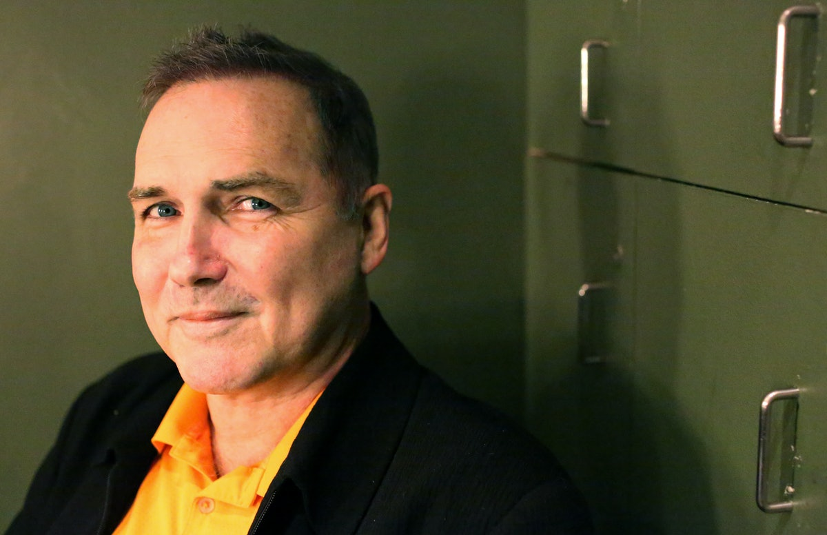 MANHATTAN, NY - NOVEMBER 13: Comedian Norm MacDonald poses for a portrait while preparing to perform...