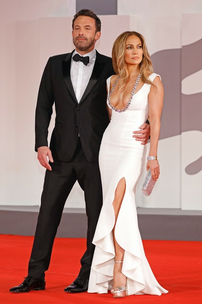 Dress up as Jennifer Lopez and Ben Affleck on the Venice red carpet for Halloween.