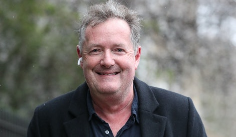 Piers Morgan returns to his home in Kensington, central London, the morning after it was announced b...