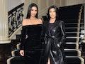 "Kim Kardashian said she thinks Kourtney Kardashian and Travis Barker's PDA is ""so cute."""