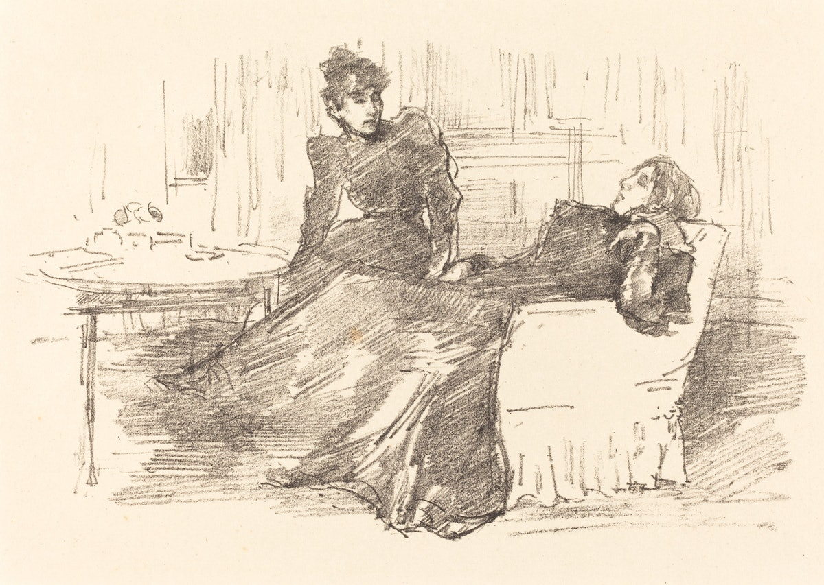 The Sisters, 1894/1895. Artist James Abbott McNeill Whistler. (Photo by Heritage Art/Heritage Images...