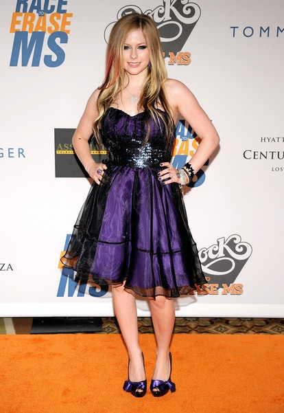 CENTURY CITY, CA - MAY 08:  Singer Avril Lavigne arrives at the 16th Annual Race to Erase MS event t...