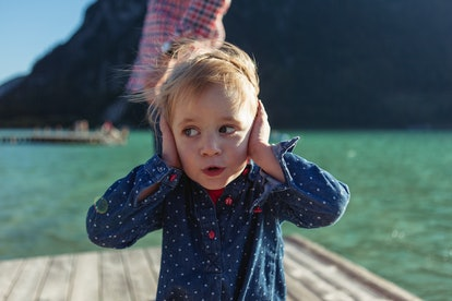 A fear of sounds is a normal part of childhood.