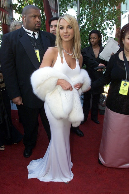 Britney Spears at the 2000 Grammys.