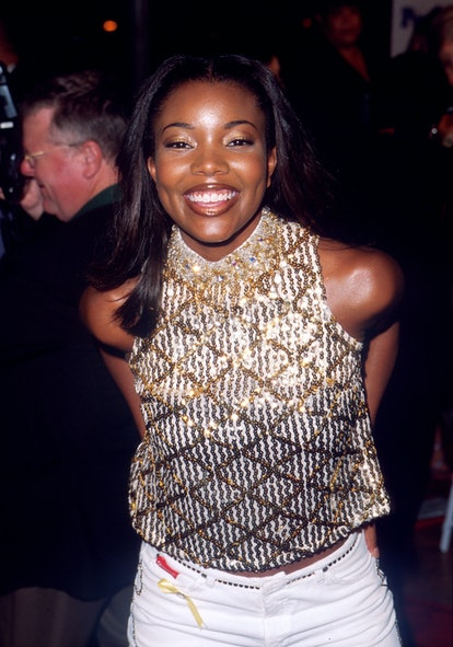 Gabrielle Union at the Bring It On movie premiere in 2000