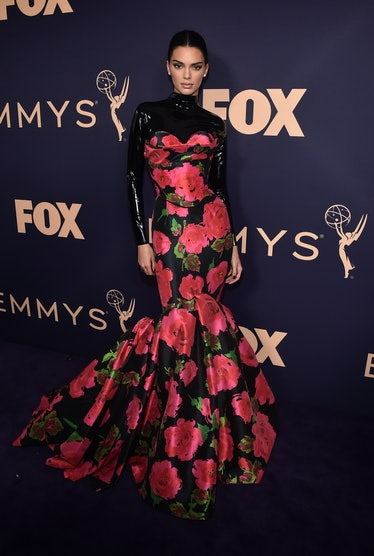 LOS ANGELES, CALIFORNIA - SEPTEMBER 22: Kendall Jenner attends the 71st Emmy Awards at Microsoft The...