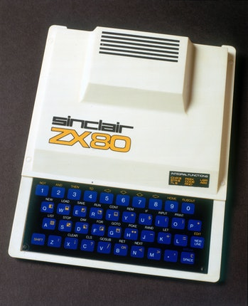 UNITED KINGDOM - NOVEMBER 09:  The Sinclair ZX80 was the first computer made to appeal to the mass m...