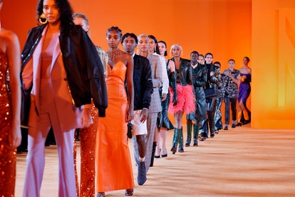 LOS ANGELES, CALIFORNIA - SEPTEMBER 16: Models walk the runway during the MARCELL VON BERLIN Spring/...
