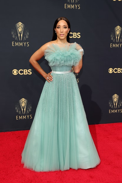 LOS ANGELES, CALIFORNIA - SEPTEMBER 19: Robin Thede attends the 73rd Primetime Emmy Awards at L.A. L...