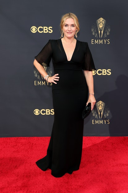 LOS ANGELES, CALIFORNIA - SEPTEMBER 19: Kate Winslet attends the 73rd Primetime Emmy Awards at L.A. ...
