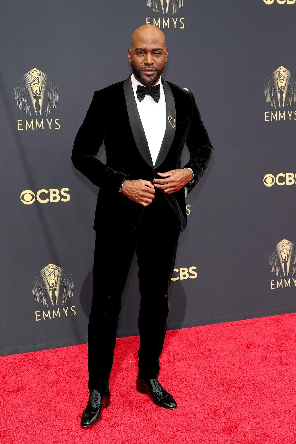 لوس آنجلس ، کالیفرنیا - 19 سپتامبر: کارامو براون در 73 مین مراسم اهدای جایزه امی در لس آنجلس شرکت کرد ...