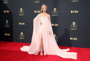 LOS ANGELES, CALIFORNIA - SEPTEMBER 19: Beth Behrs attends the 73rd Primetime Emmy Awards at L.A. LI...