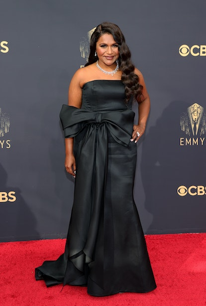 LOS ANGELES, CALIFORNIA - SEPTEMBER 19: Mindy Kaling attends the 73rd Primetime Emmy Awards at L.A. ...