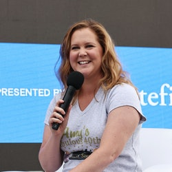 NEW YORK, NEW YORK - JUNE 12: Amy Schumer speaks onstage at Storytellers: Amy Schumer & Emily Ratajk...