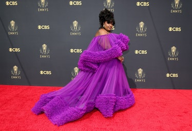 LOS ANGELES, CALIFORNIA - SEPTEMBER 19: Nicole Byer attends the 73rd Primetime Emmy Awards at L.A. L...