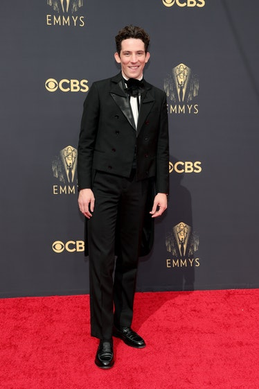 LOS ANGELES, CALIFORNIA - SEPTEMBER 19: Josh O'Connor attends the 73rd Primetime Emmy Awards at L.A....