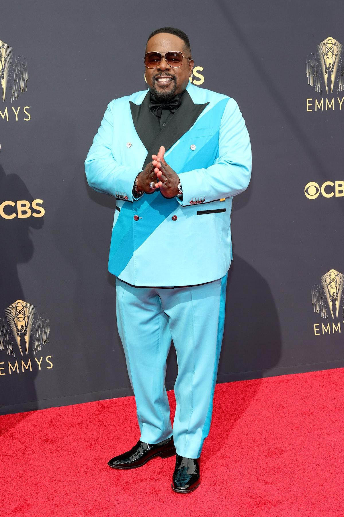 لوس آنجلس ، کالیفرنیا - 19 سپتامبر: میزبان سدریک سرگرم کننده در 73 امین مراسم Emmy Primetime شرکت کرد ...