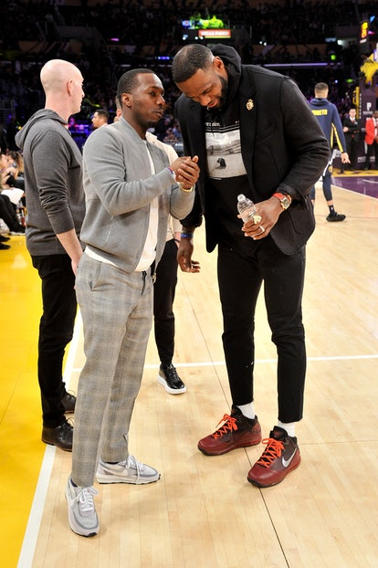 Rich Paul reps NBA superstars like LeBron James.