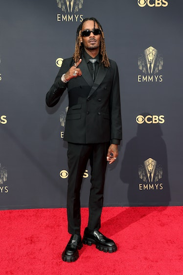 LOS ANGELES, CALIFORNIA - SEPTEMBER 19: GaTa attends the 73rd Primetime Emmy Awards at L.A. LIVE on ...
